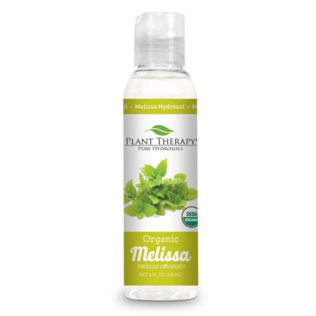 Plant Therapy Melissa Organic Hydrosol 4 oz (Flower Water)