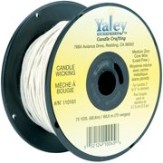 Candle Wicking Spool 75yd Medium Wire