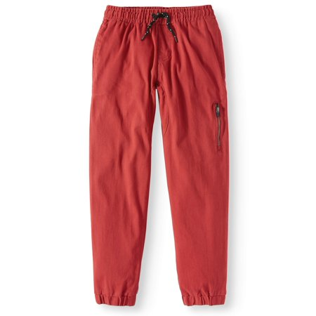 Stretch Twill Jogger Pant (Big Boys) (Boys Pants Clearance)
