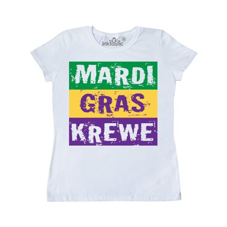 Mardi Gras Krewe Parade Women's T-Shirt](Halloween River Parade)