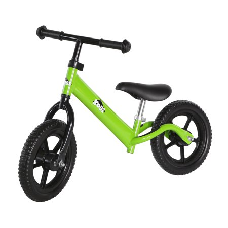 KOBE Steel Balance Running Bike - Lightweight No Pedals - Perfect Training Bike For Toddlers & Kids - Green - image 2 de 7