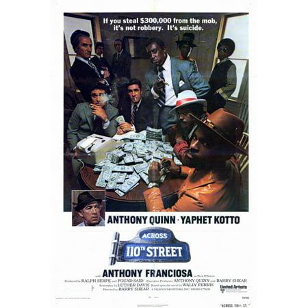 Across 110Th Street  1972  27X40 Movie Poster
