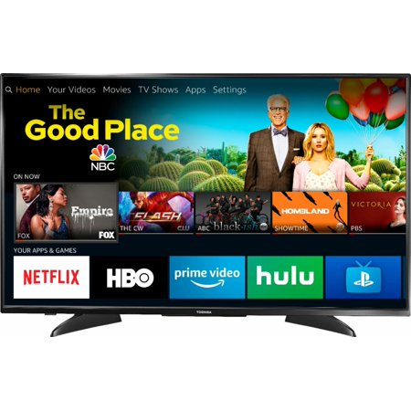 Toshiba - 43Class LED - 2160p Smart - 4K UHD TV with HDR Fire TV Edition ()