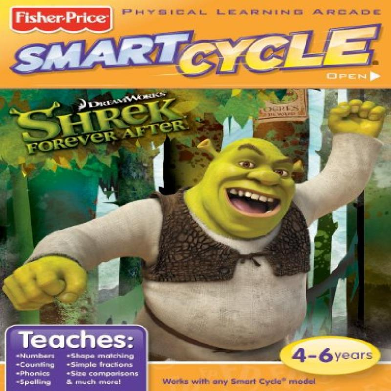 Fisher Price smart cycle software - shrek forever after