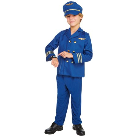 Cheap Pilot Costume (Jet Set Pilot Child Costume)