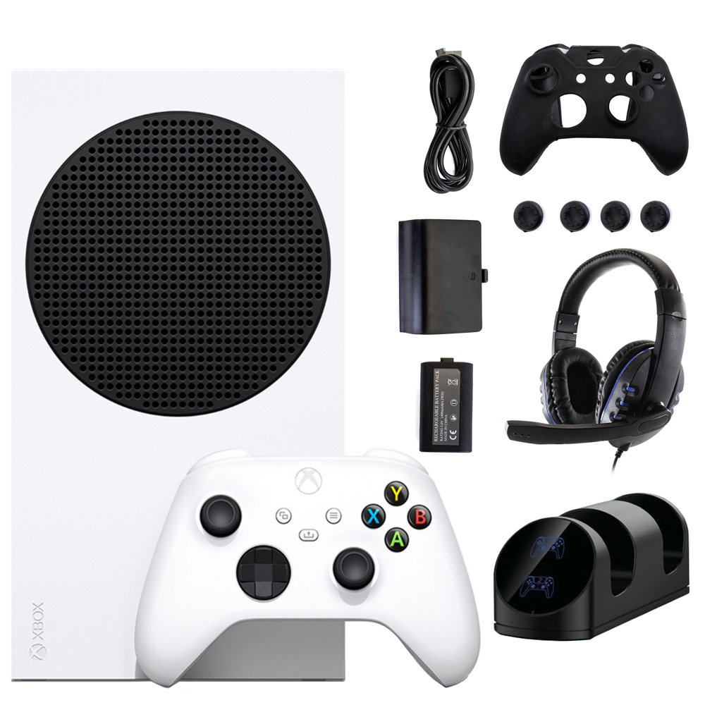 Xbox Series S 512 GB Console with Accessories Kit