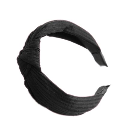Boyijia Women Lady Bow Hair Hoop Girl Solid Color Soft Knotted Cloth Headband Hairband Head Decoration - image 5 of 8