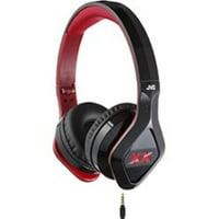 4cd79c4e5d5 Product Image JVC Elation XX HA-SR100X-B Stereo Headset w/ Mic and Remote -