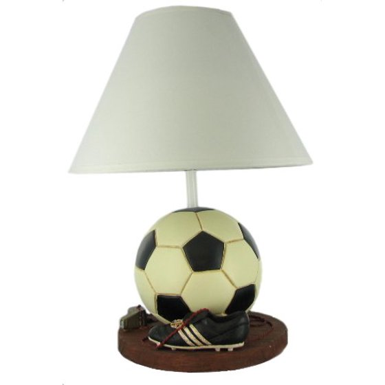 Detailed sports handpainted soccer ball table lamp by russ detailed sports handpainted soccer ball table lamp by russ mozeypictures Images