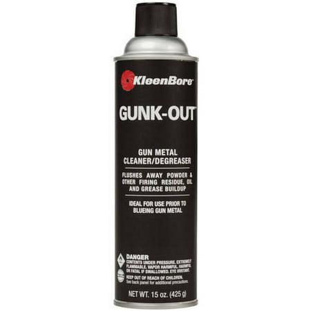 KleenBore Gunk Out Gun Metal Cleaner and Degreaser - Greaser Guy