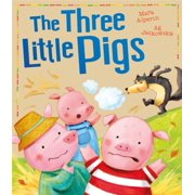 The Three Little Pigs (My First Fairy Tales) (Paperback)