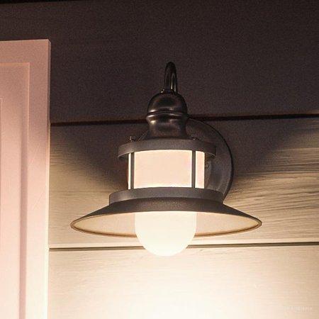Nautical Outdoor Lighting - Urban Ambiance Luxury Nautical Outdoor Wall Light, Small Size: 9.5