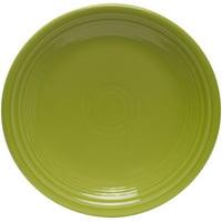 """Fiesta  Dinnerware 9"""" Luncheon Plate - Lemongrass"""