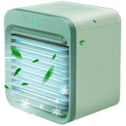Portable air Conditioner USB Mini Air Cooler 3 Speed, 3in1 Mini Evaporative Cooler, Humidifier Misting , Super Quiet, for Home, Office, Bedroom, Outdoor (Rechargeable)