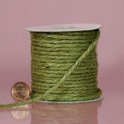 Moss Green Jute Cord, 3.5mm X 25yd