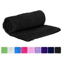 Puffy Cotton Premium 100% Natural Soft Cotton Hand Towel - Set of 6 - Purple