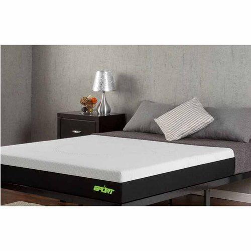 "Sleep Revolution 8"" Sport Memory Foam Mattress"