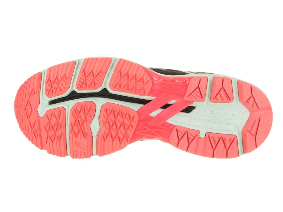 ASICS Women's GT-2000 5 Running Shoes (Black/Pink, 10)