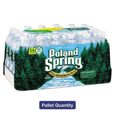 Poland Spring® Bottled Water, 500ml Bottle, 96/pallet