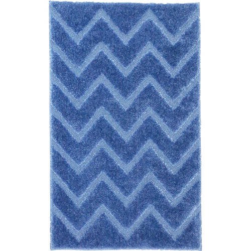 Better Homes And Gardens Chevron Pattern Solid Bath Rug