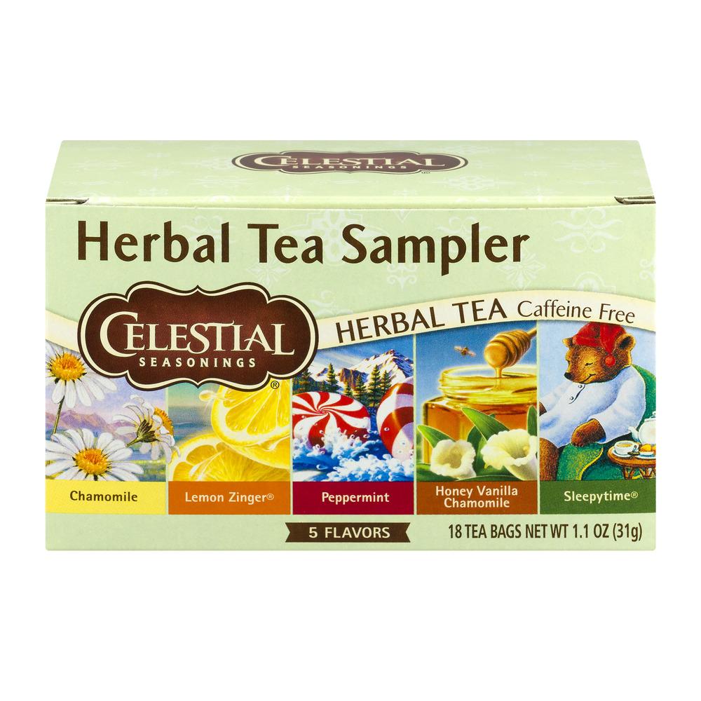 Celestial Seasonings Herbal Tea Sampler 18 CT by The Hain Celestial Group, Inc.
