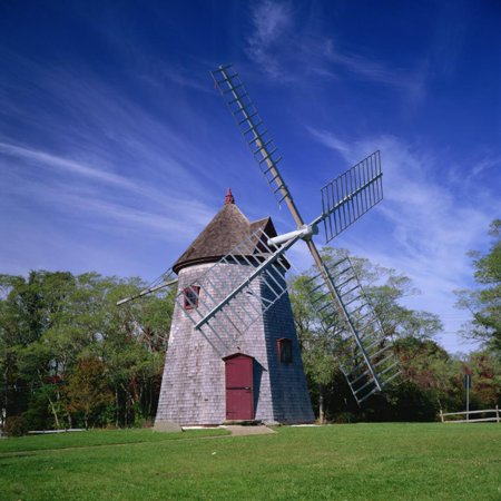 Oldest Windmill on Cape Cod, Dating from 1680, at Eastham, Massachusetts, New England, USA Print Wall Art By Roy Rainford Cape Cod Wind