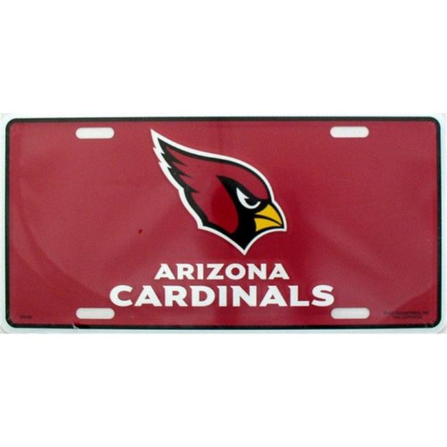 LP - 759 AZ Arizona Cardinals NFL Football License Plate - 3601M