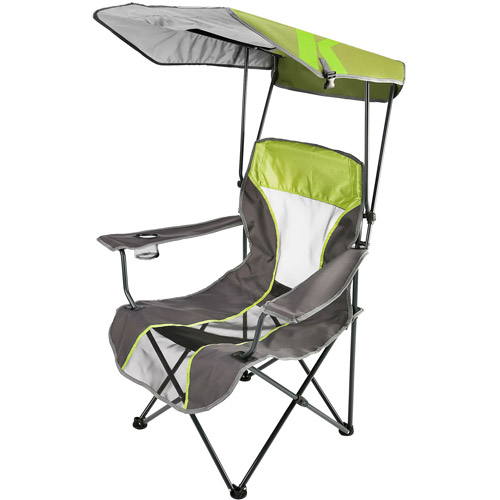 Kelsyus Premium Canopy Chair, Lime