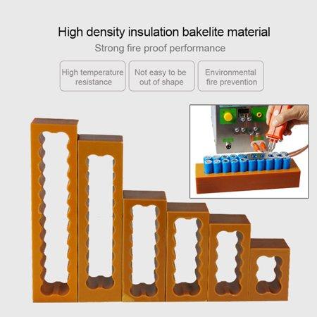 Universal 18650 Lithium Cell Dual Prime Integrated Fixture For Spot Welder Plastics Cell Spot Welding Fixture - image 5 de 5