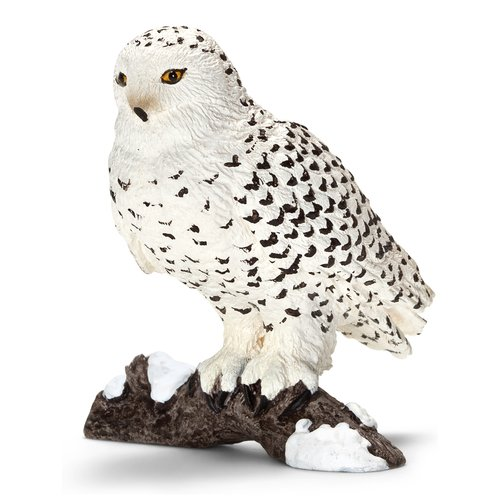 Schleich Snowy Owl Animal Figurine