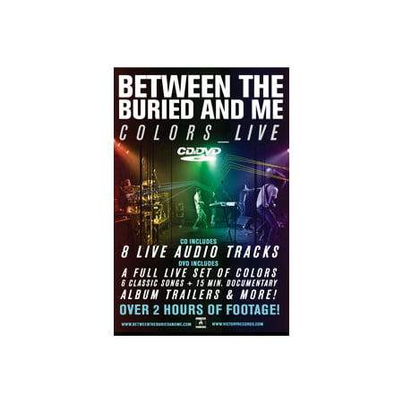 Between The Buried And Me - Concert Promo Poster (Between The Buried And Me San Diego)