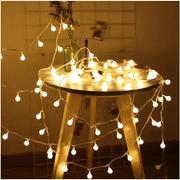LED String Lights, 19.68FT 40LED Ball String Lights Indoor/Outdoor Waterproof Decorative Light, Battery Powered Starry Fairy String Lights for Bedroom, Garden, Christmas Tree, Wedding Decoration,I0966
