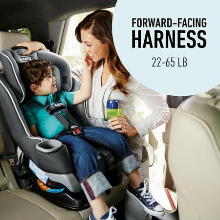 Graco Extend2Fit Convertible Car Seat, Gotham Black
