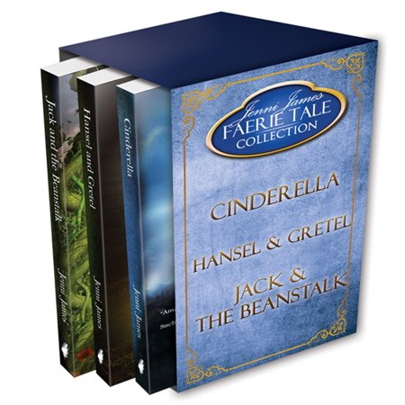 Faerie Tale Collection Box Set #1: Cinderella, Hansel and Gretel, Jack and the Beanstalk -