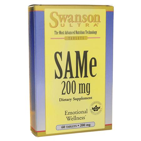 Swanson Same 200 mg 60 Tabs ()
