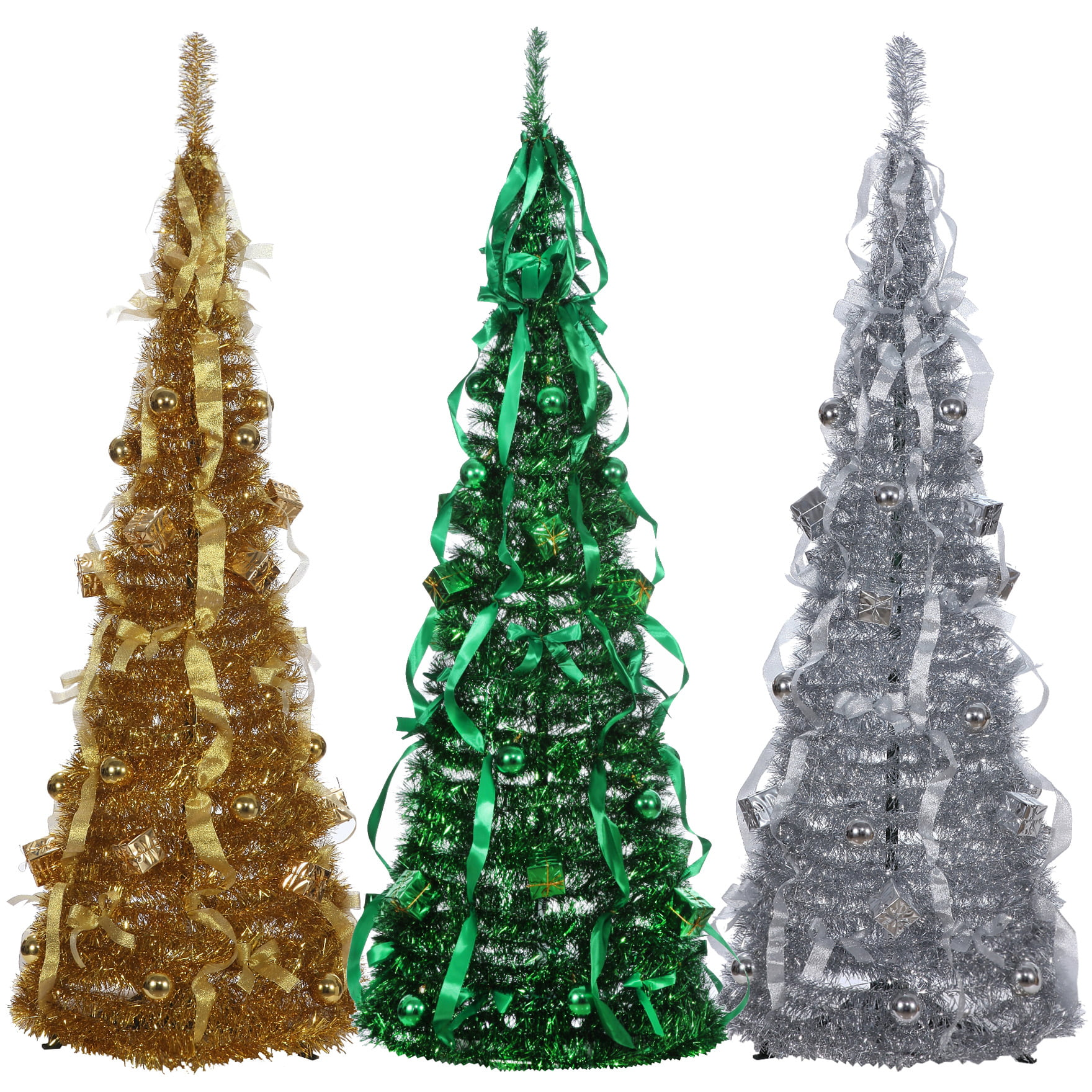 decorated pull up christmas tree part 16 collapsible christmas tree part 17 - Pull Up Christmas Tree