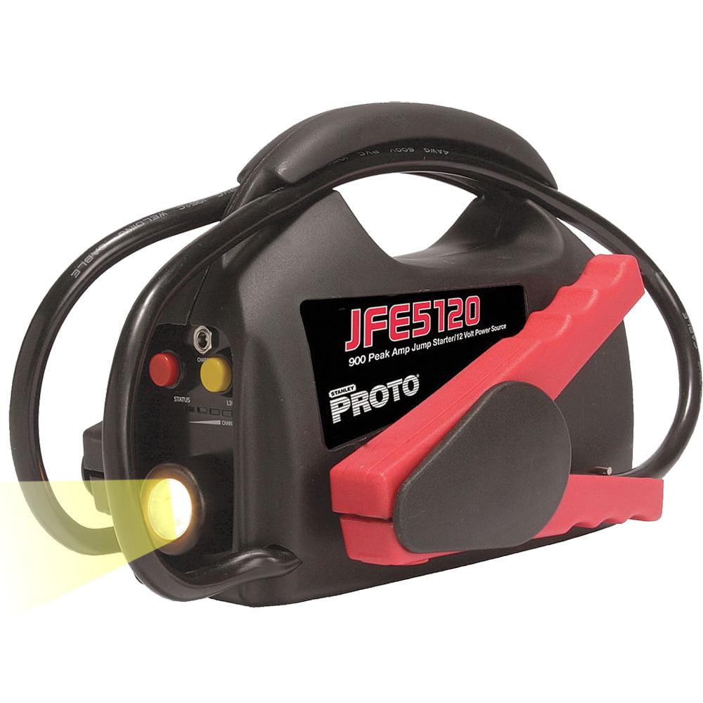 Proto Tool JFE5120 900 Amp Peak Jump Starter Ultra-Portable