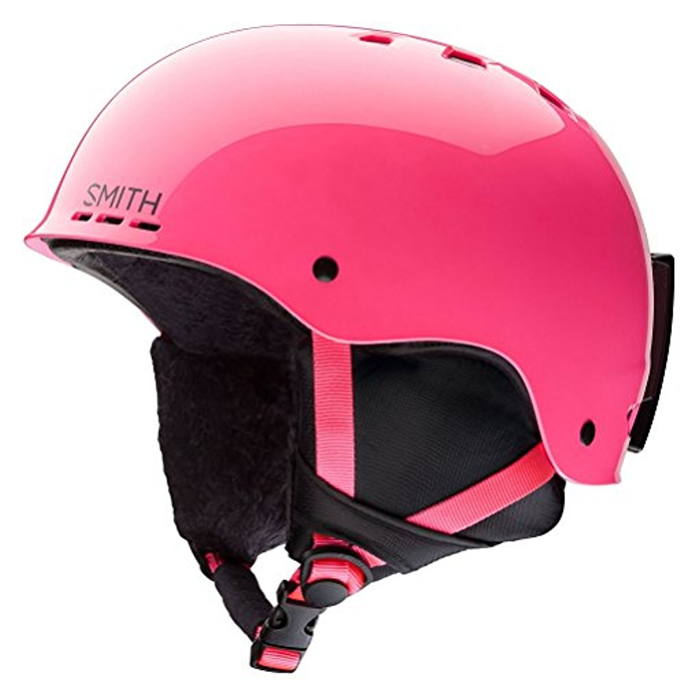 Smith Optics Holt Jr Ski Snow Helmet (Crazy Pink Youth Small) by Smith Optics