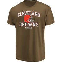 Men's Majestic Brown Cleveland Browns Greatness T-Shirt