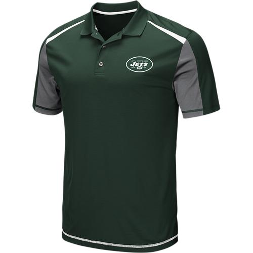 Men's Majestic Green New York Jets Draft Prize Polo
