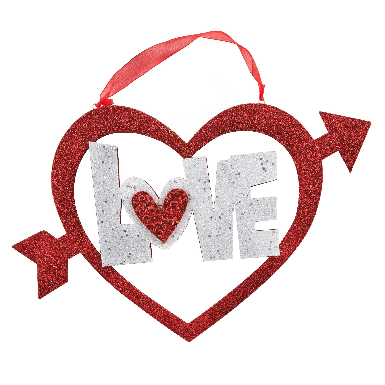Way To Celebrate Valentine's Day Wall Decor, Love