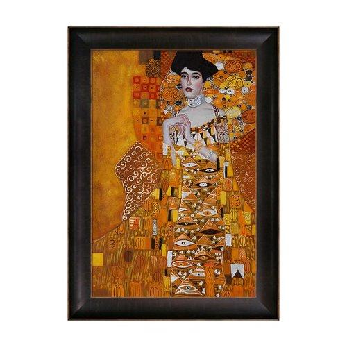 Overstock Art KL1834-FR-939324X36 Gustav Klimt - Portrait of Adele Bloch-Bauer 1, 1907 Framed Art