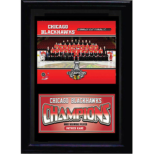 NHL Chicago Blackhawks Champions Deluxe Frame, 11x14
