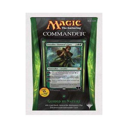 Magic The Gathering Commander 2014 Guided by Nature Deck - image 1 de 1