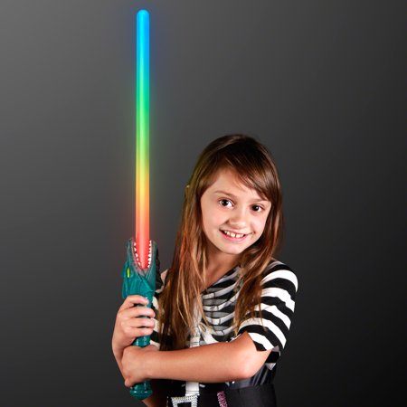 Sword Sounds (FlashingBlinkyLights LED Dragon Light Up Saber Sword with