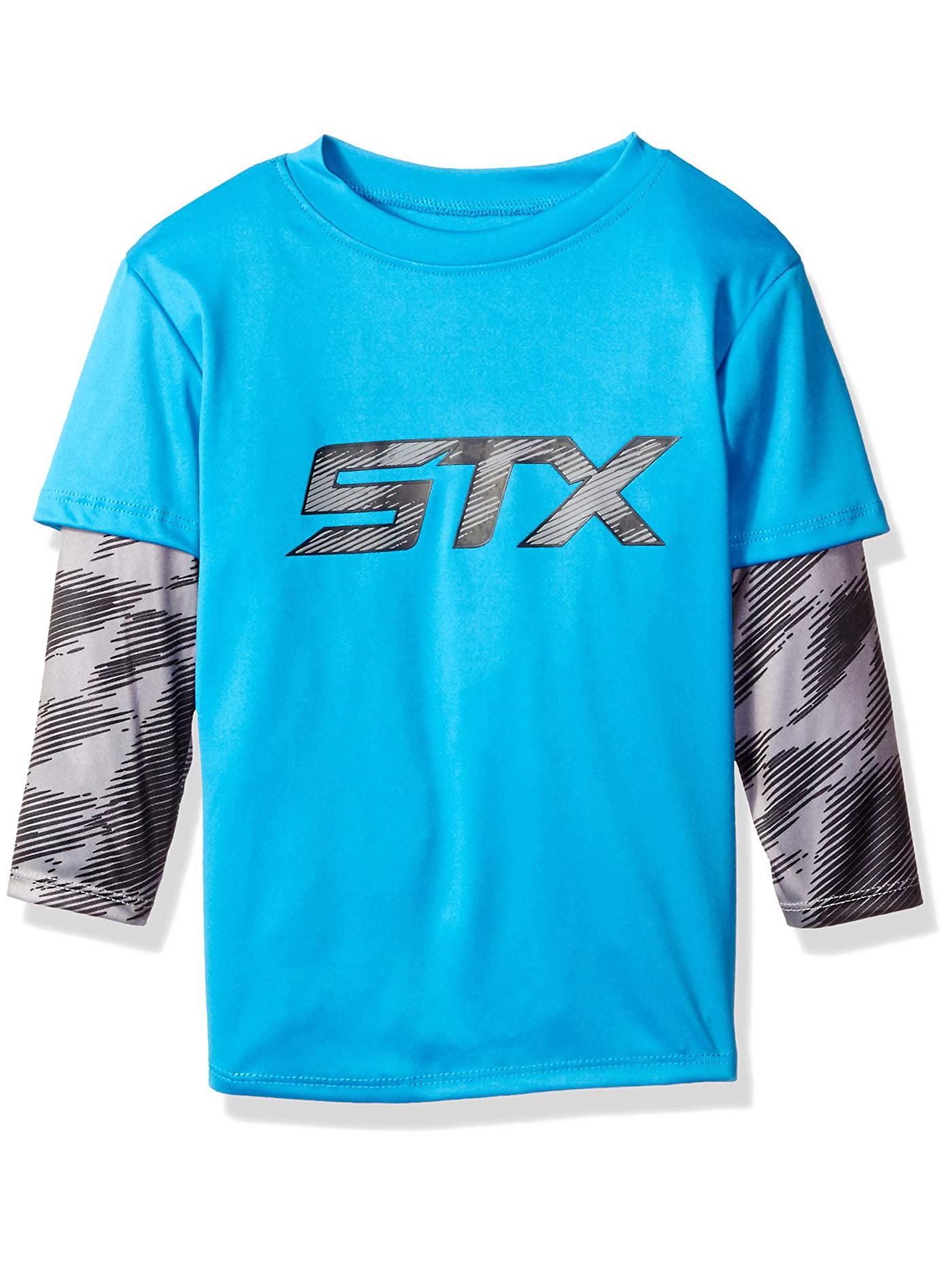 STX Active Performance Long Sleeve Hangdown Tee (Little Boys & Big Boys)
