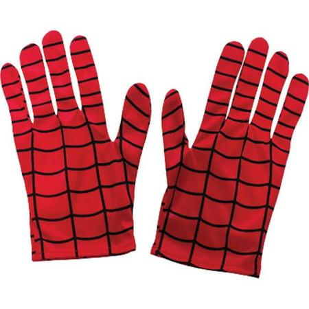 Morris Costumes RU35658 Spiderman Adult Gloves Costume (Spiderman Gloves)