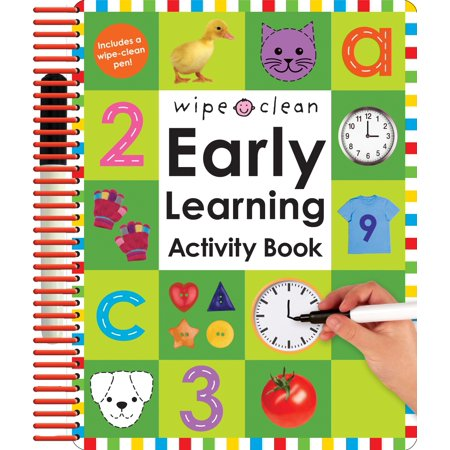 (Wipe Clean: Early Learning Activity Book [With 2 Wipe-Clean Pens] (Hardcover))