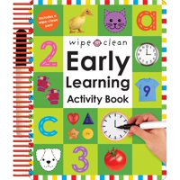 Wipe Clean: Early Learning Activity Book [With 2 Wipe-Clean Pens] (Hardcover)