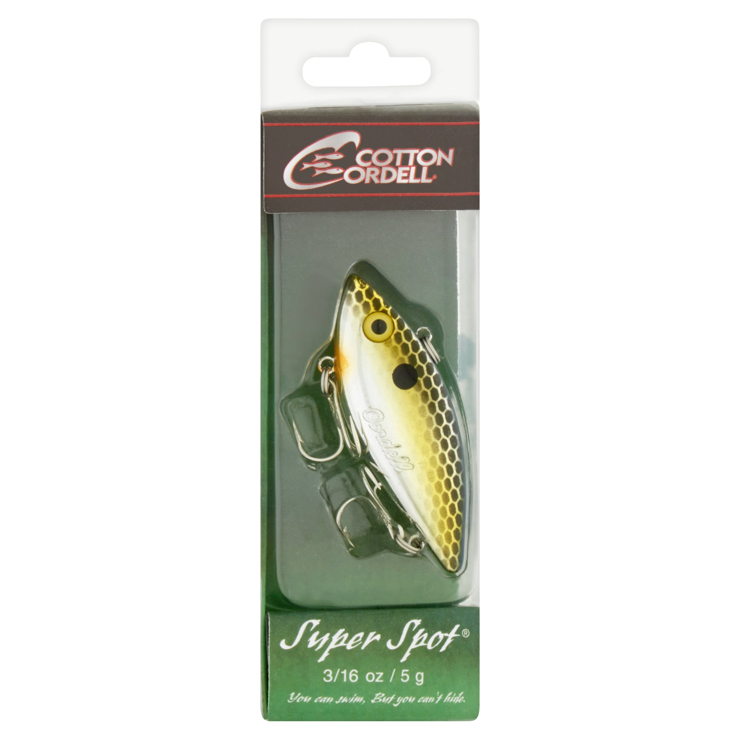 Cotton Cordell Super Spot Lure, 3/16 oz